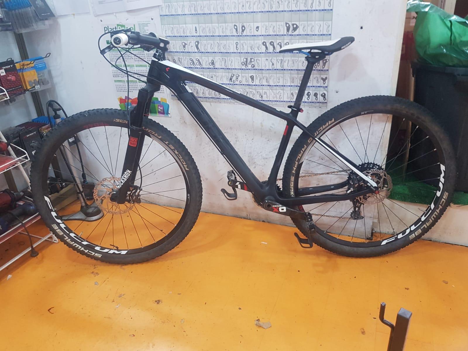 bici de carbon
