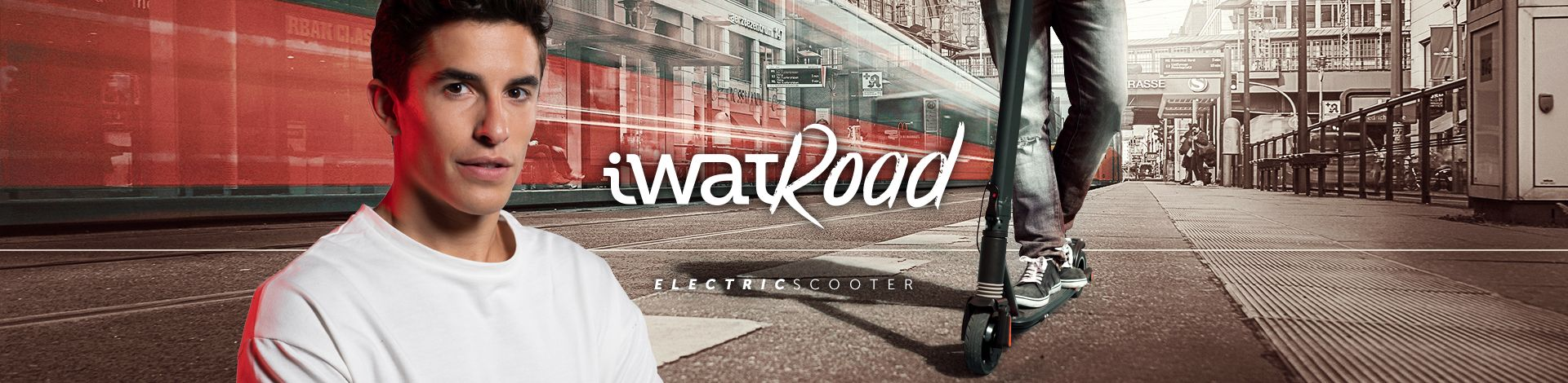 patinete-scooter electrico-iwatroad-r8