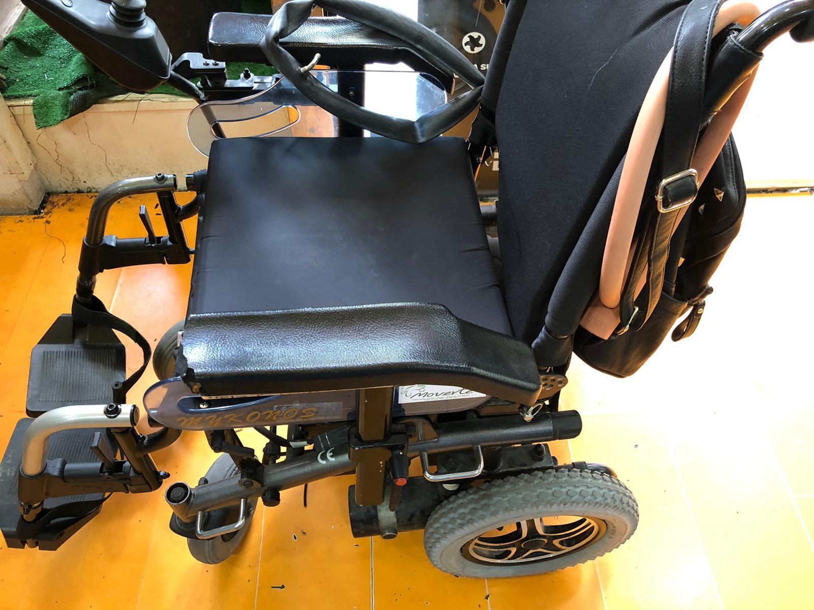 reparacion pinchazo silla de rueda logroño