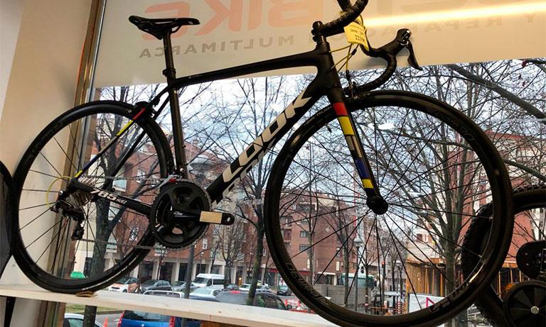 bicicleta carretera look 785